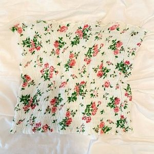 💗 Kendall & Kylie Floral tube top 💗